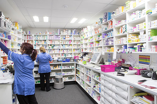 Pharmacy front line