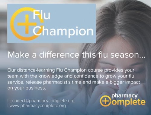 Positive Solutions and Pharmacy Complete working together to support pharmacy flu vaccination service