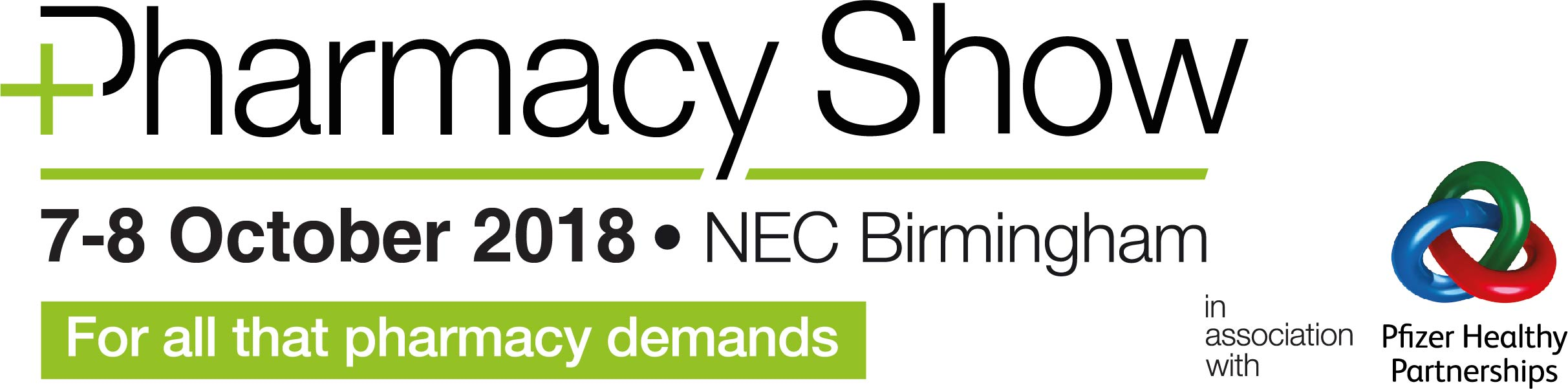 Join us at the Pharmacy Show! 7 – 8 October at Birmingham NEC