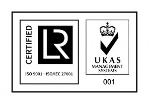 UKAS AND ISO-9001 AND ISO/IEC 27001