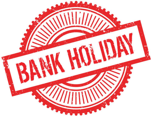 Service and support for the Bank Holiday – Friday 8th May 2020