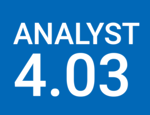 Analyst 4.03 Update released